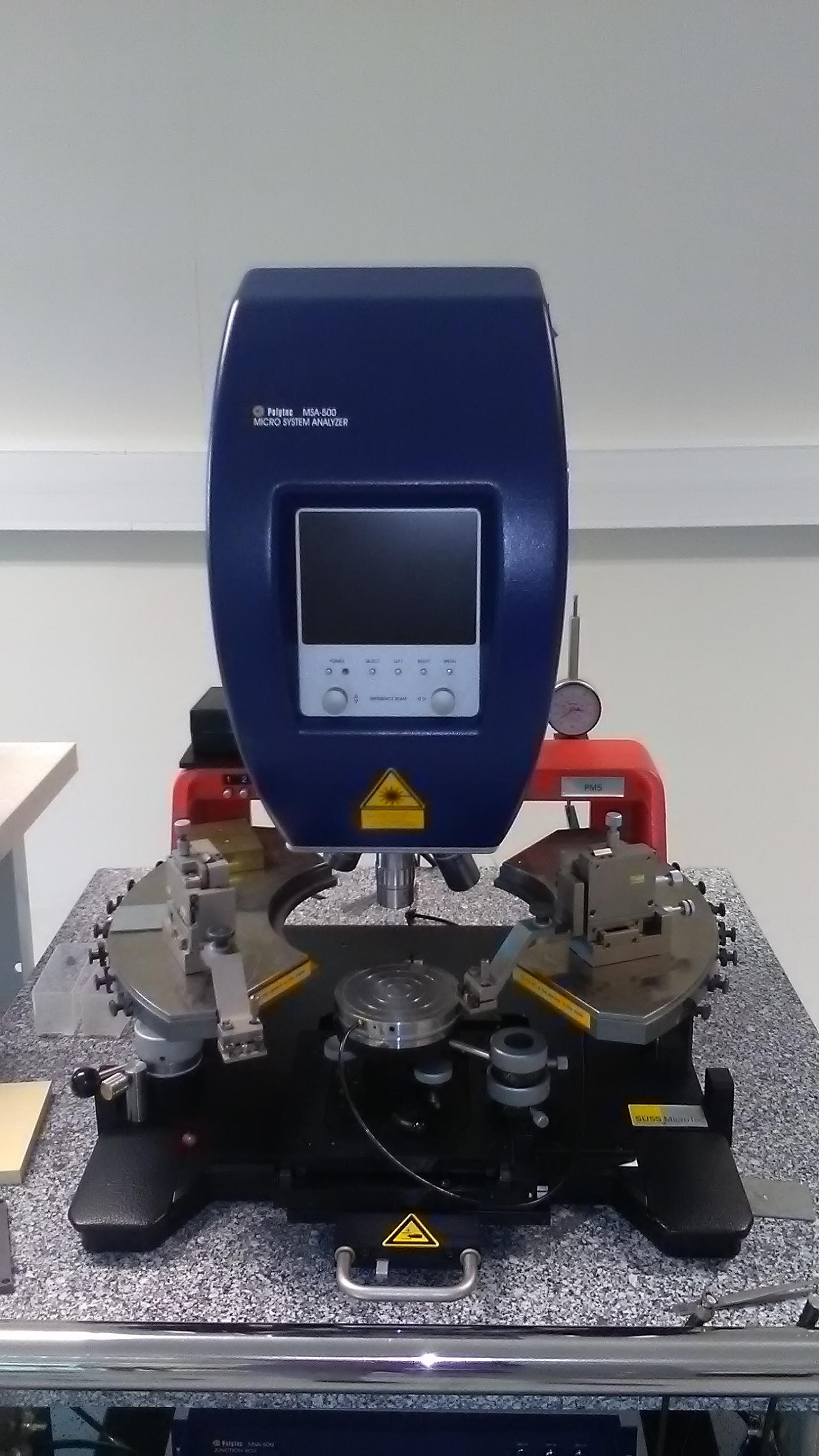 Picture of Vibromètre Polytec MSA 500